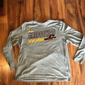 Under Armour Central Michigan Long sleeve tee
